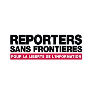 Reporter sans frontières : Brand Short Description Type Here.